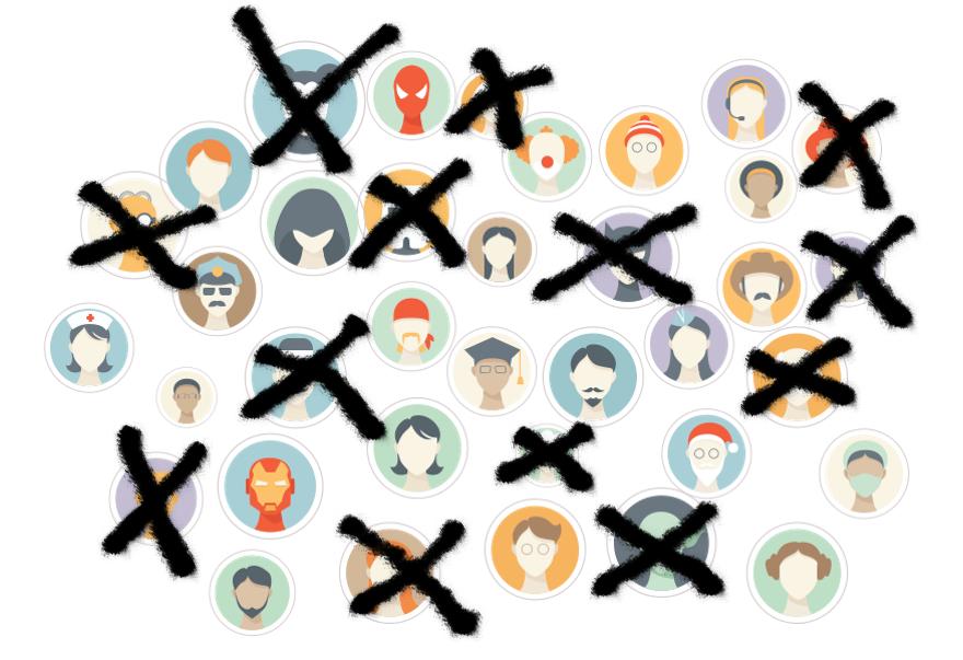 """Confession : """"J'ai supprimé des amis… Facebook""""."""
